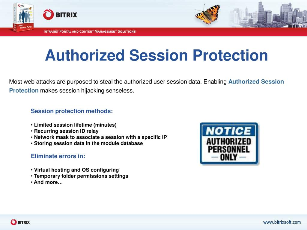 Authorized Session Protection