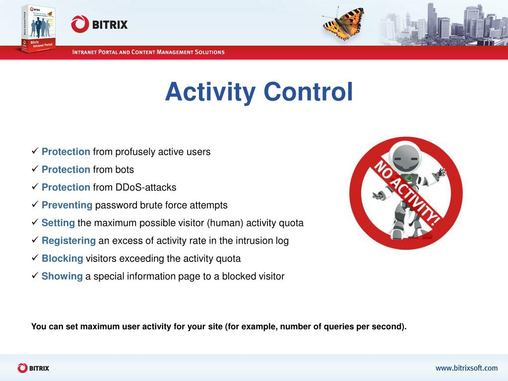 Activity Control
