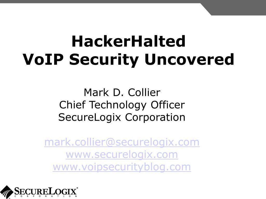 HackerHalted