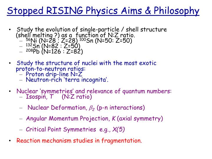 Stopped rising physics aims philosophy l.jpg
