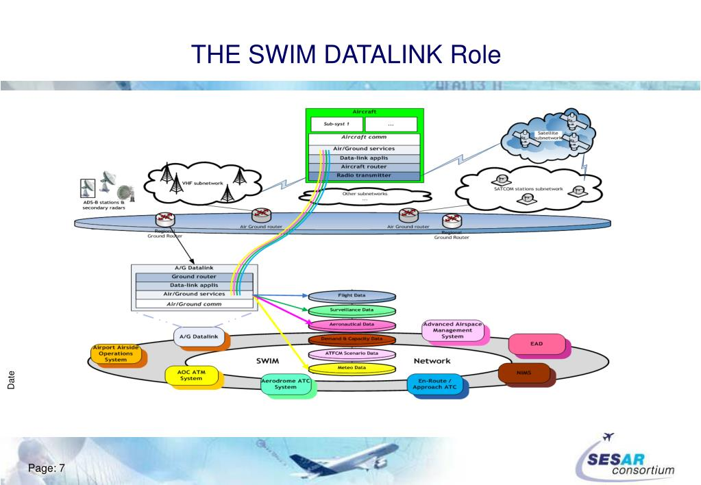 THE SWIM DATALINK Role