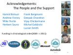 acknowledgements the people and the support