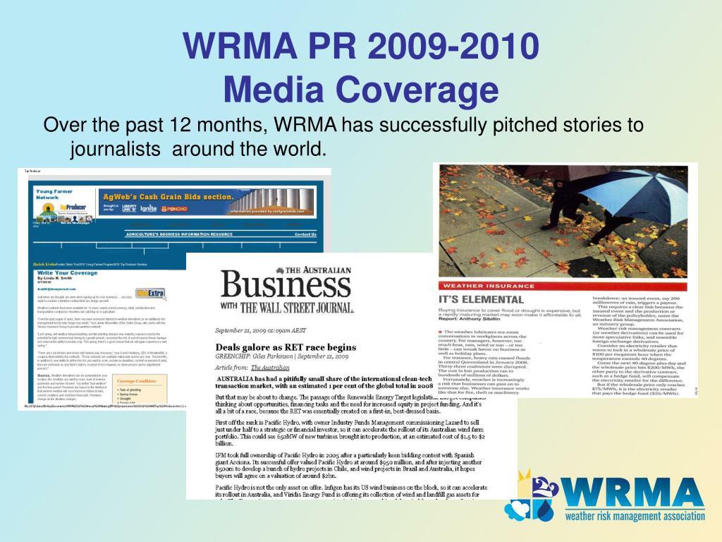 WRMA PR 2009-2010
