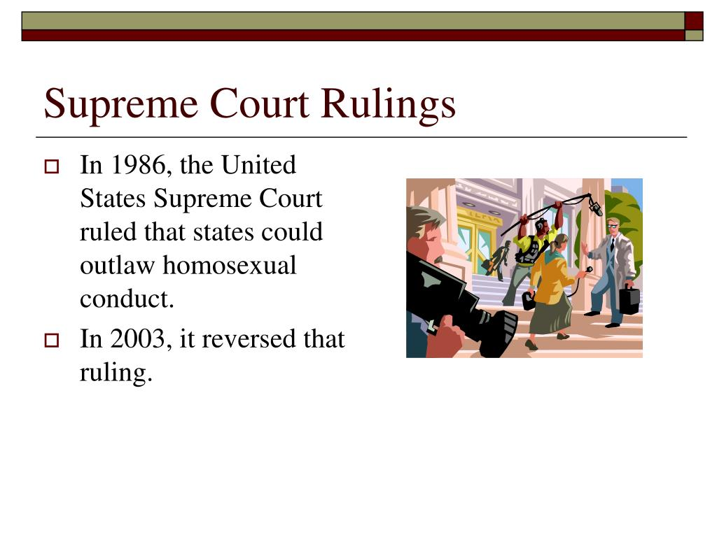 Supreme Court Rulings