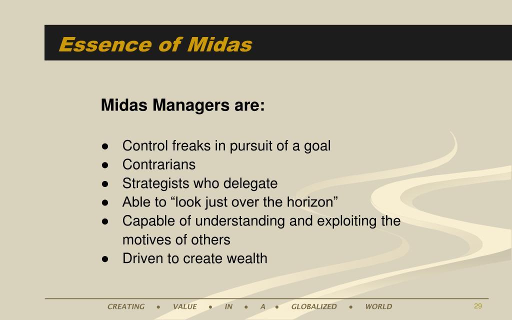 Essence of Midas
