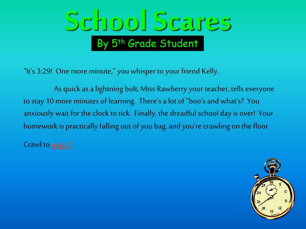 School Scares