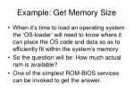 example get memory size