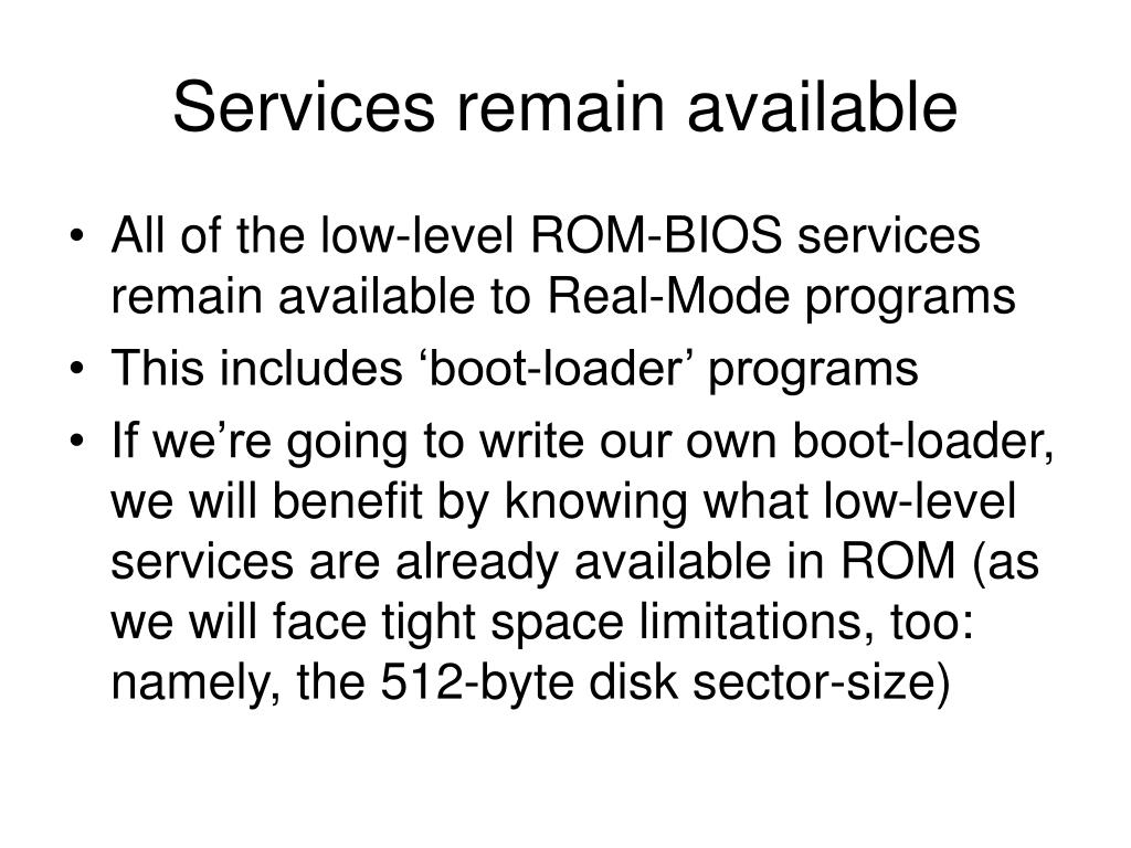 Services remain available