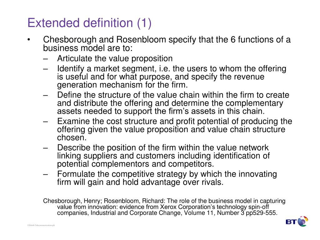 Extended definition (1)