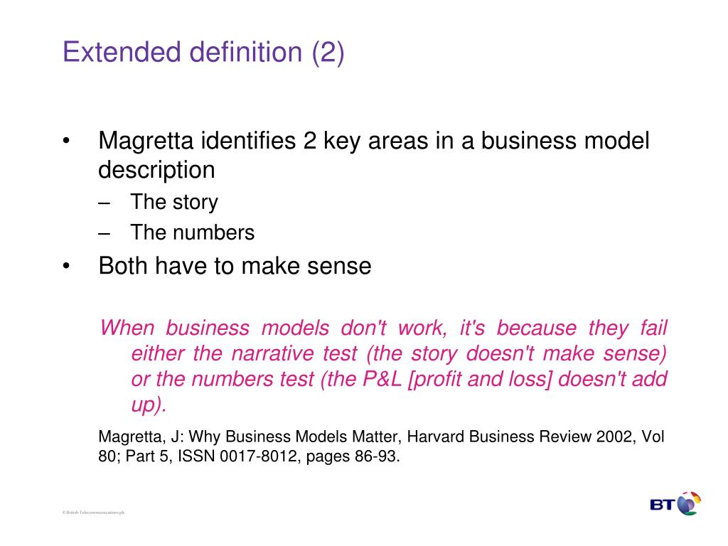 Extended definition (2)