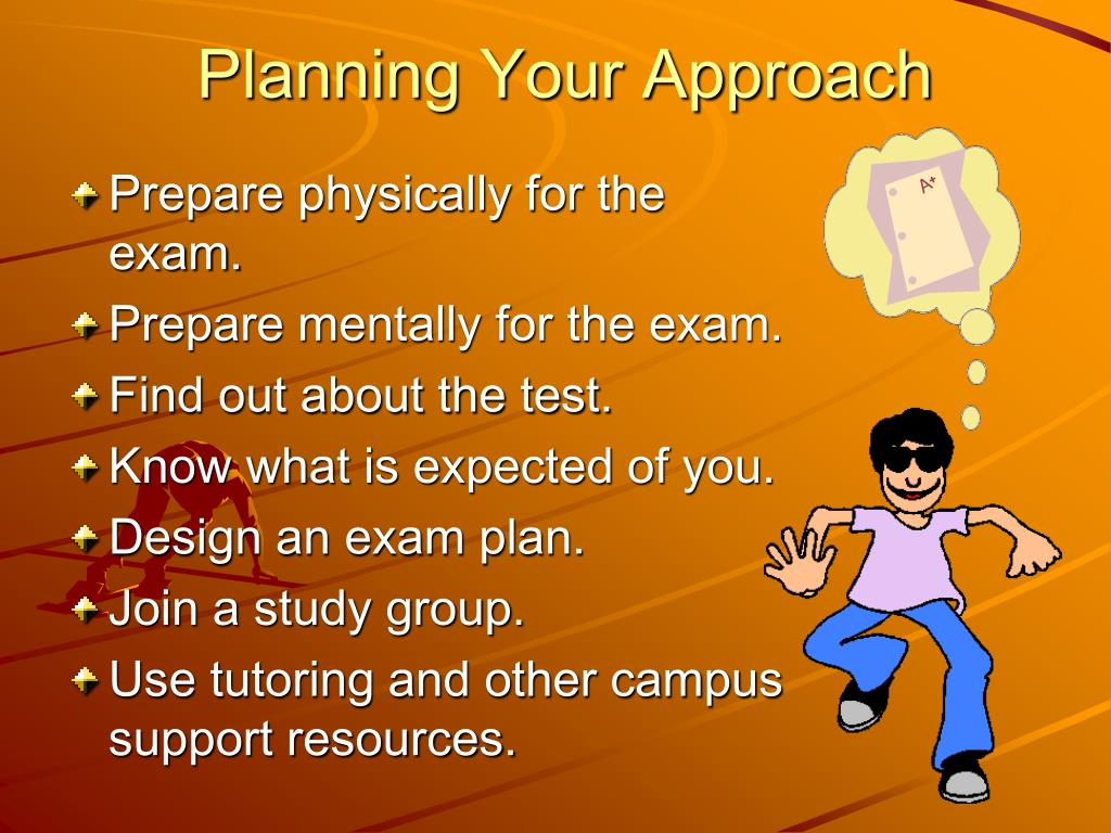 Planning Your Approach