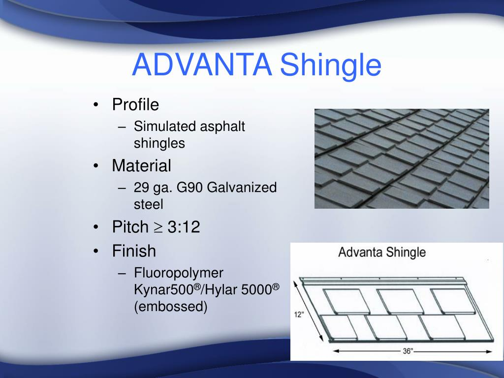 ADVANTA Shingle