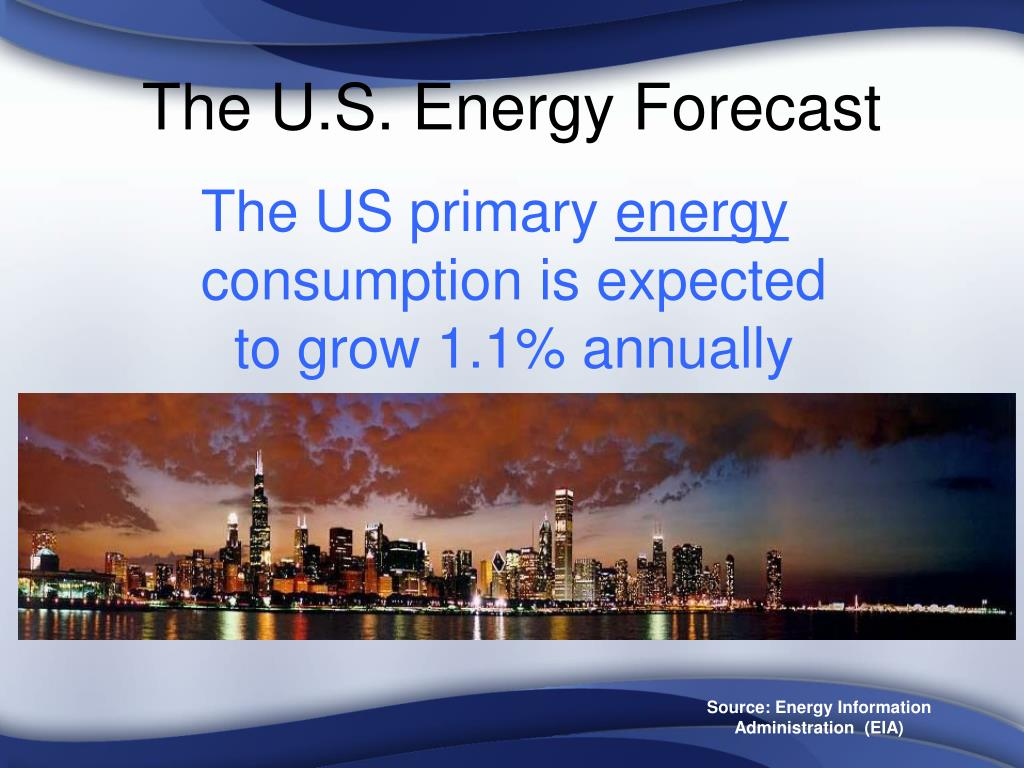 The U.S. Energy Forecast