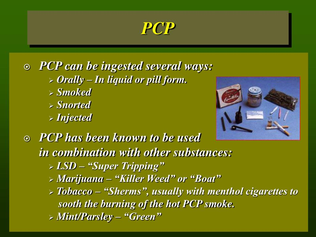 PCP can be ingested several ways: