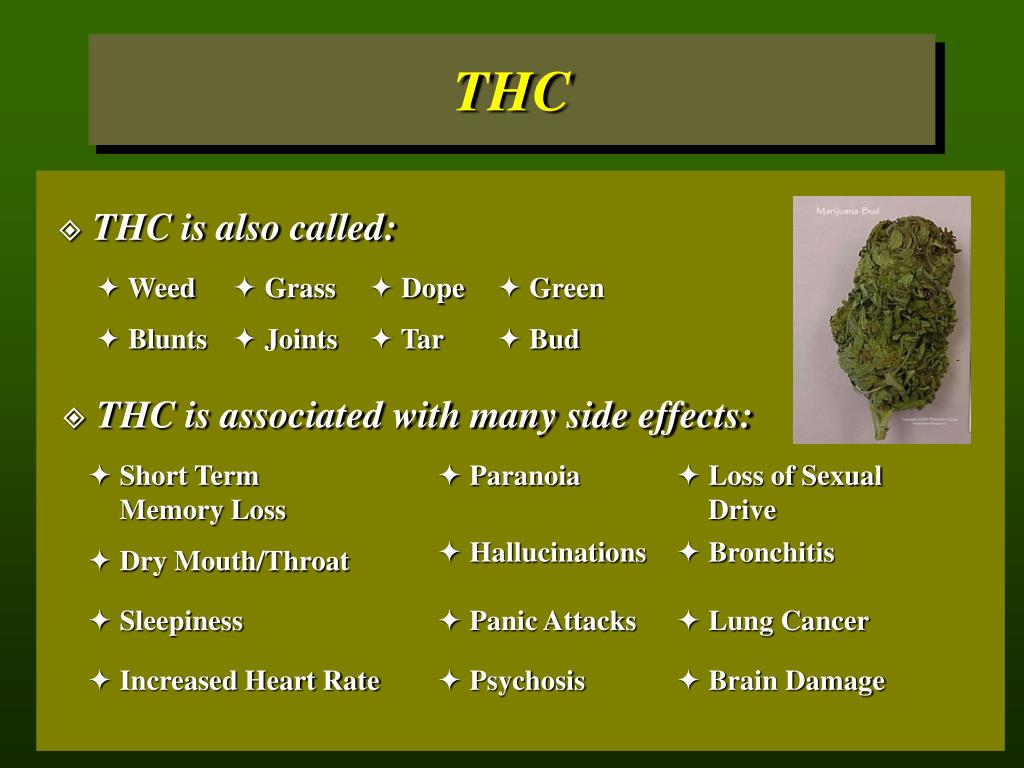 THC is also called: