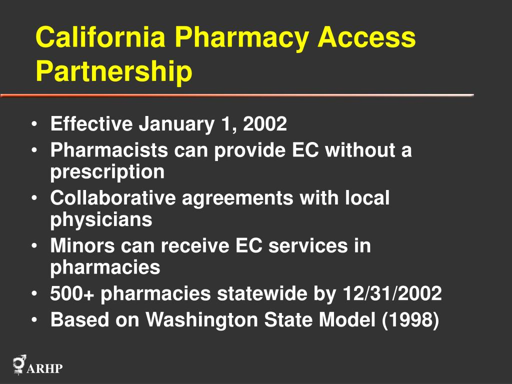 California Pharmacy Access Partnership