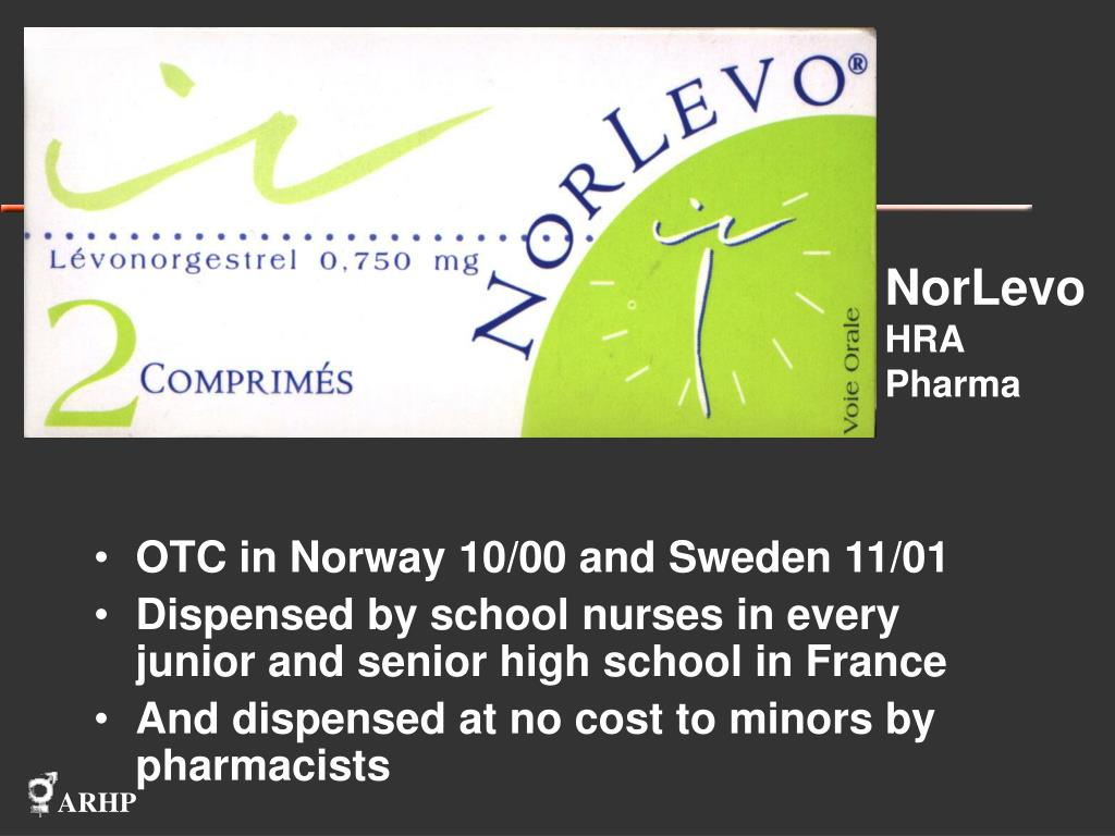 OTC in Norway 10/00 and Sweden 11/01
