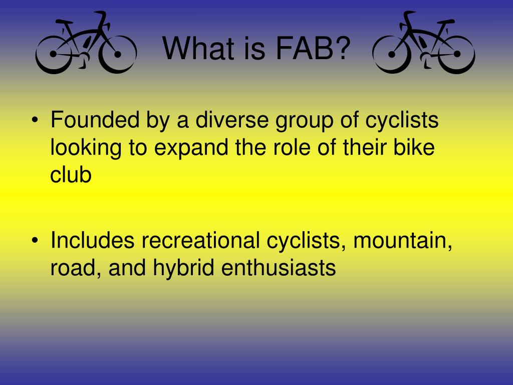 What is FAB?