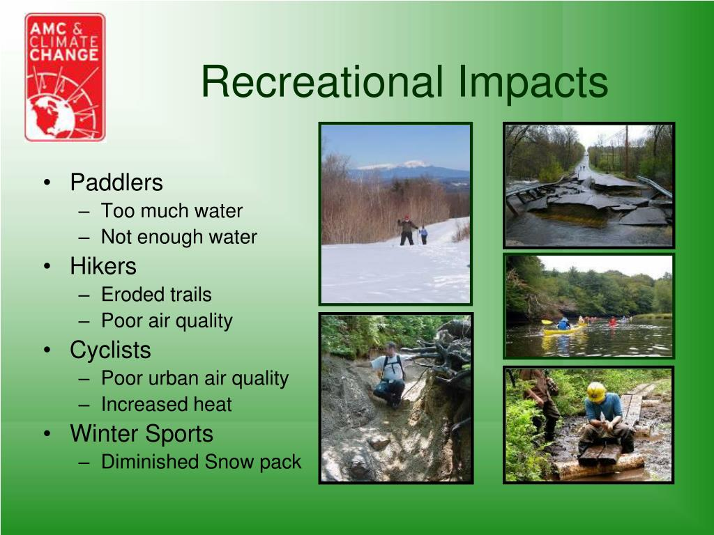Recreational Impacts
