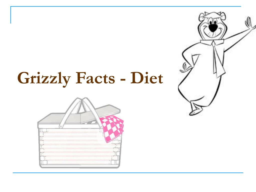 Grizzly Facts - Diet