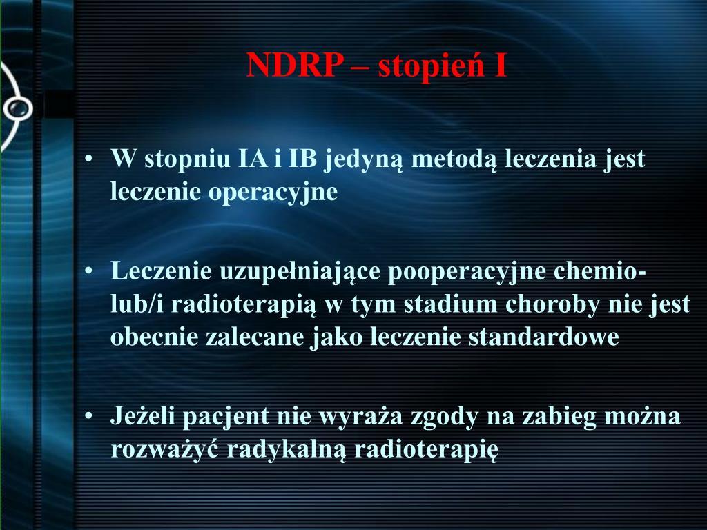 NDRP – stopień I