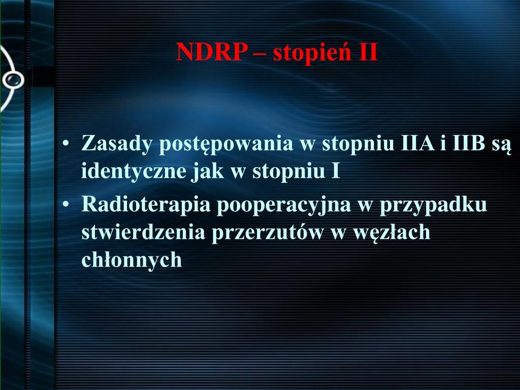 NDRP – stopień II