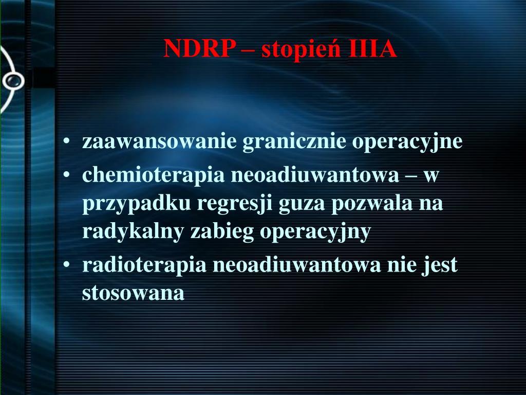 NDRP – stopień IIIA