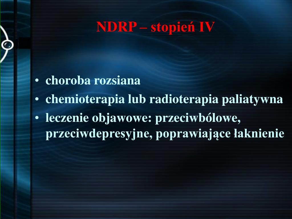 NDRP – stopień IV