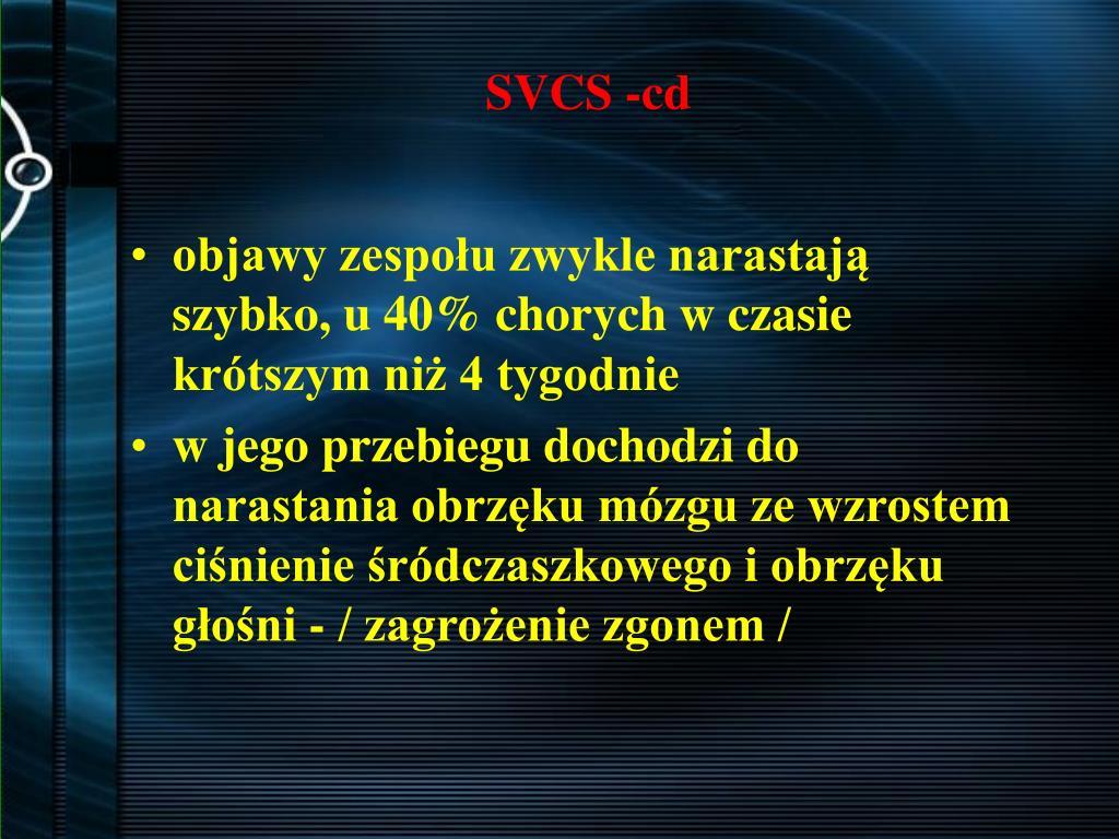 SVCS -cd