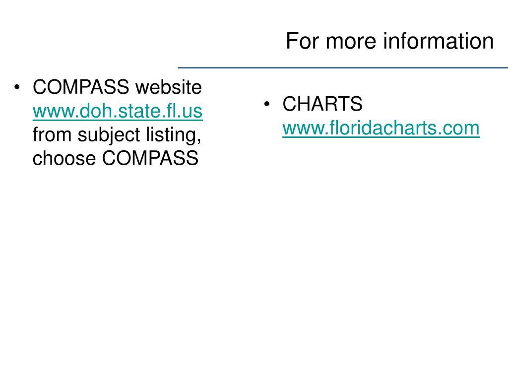 COMPASS website