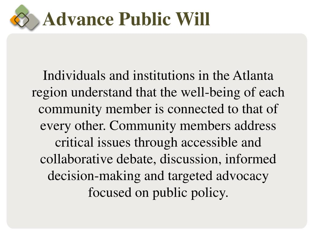 Advance Public Will