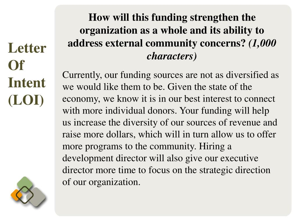 How will this funding strengthen the organization as a whole and its ability to address external community concerns?