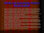 gallon jug community school belize epals