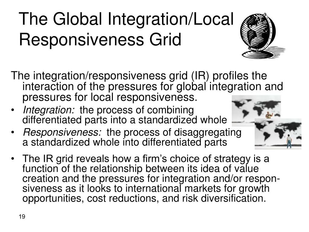The Global Integration/Local