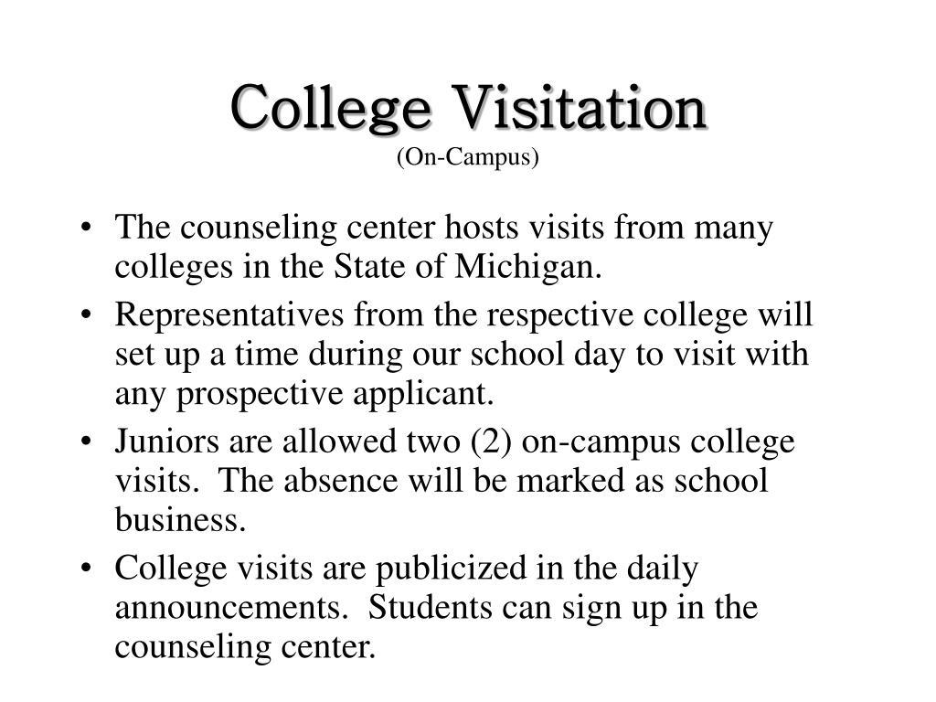 College Visitation