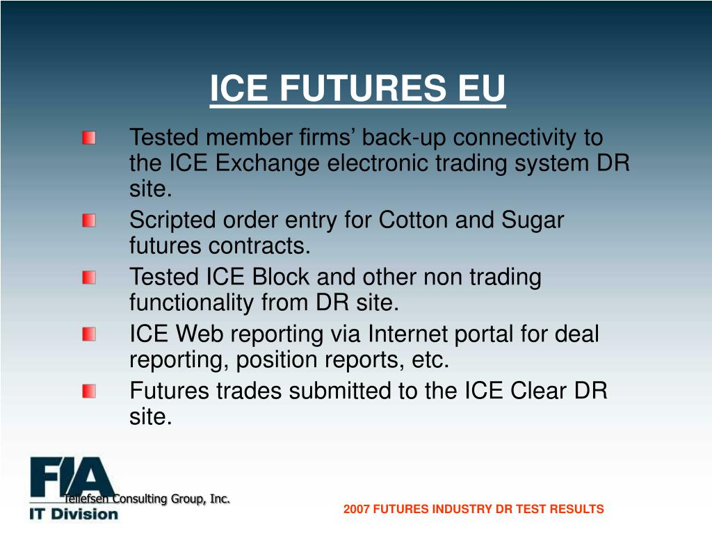 ICE FUTURES EU