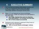 ii executive summary