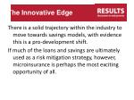 the innovative edge