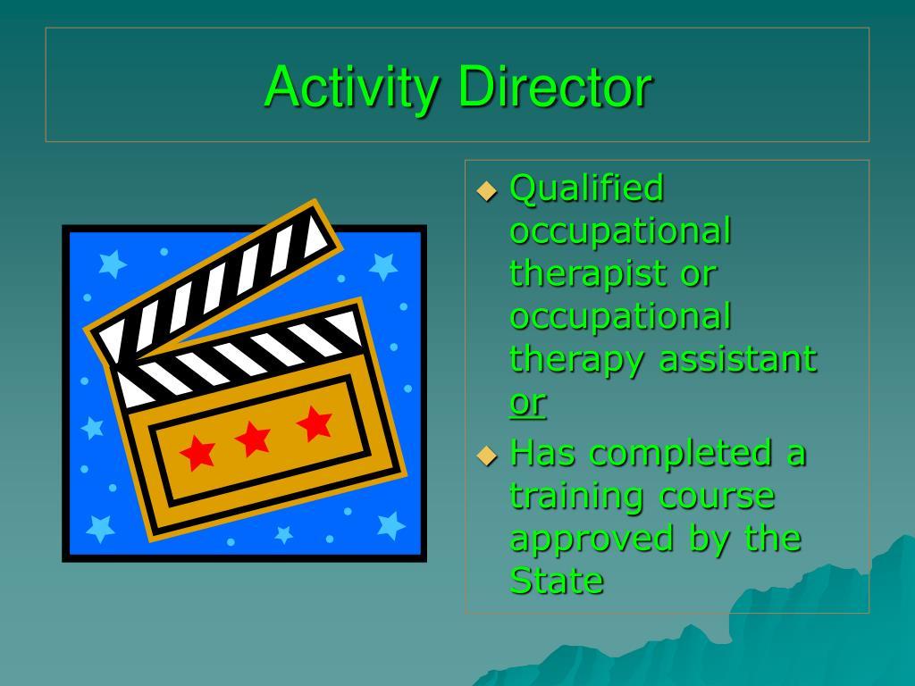 Activity Director