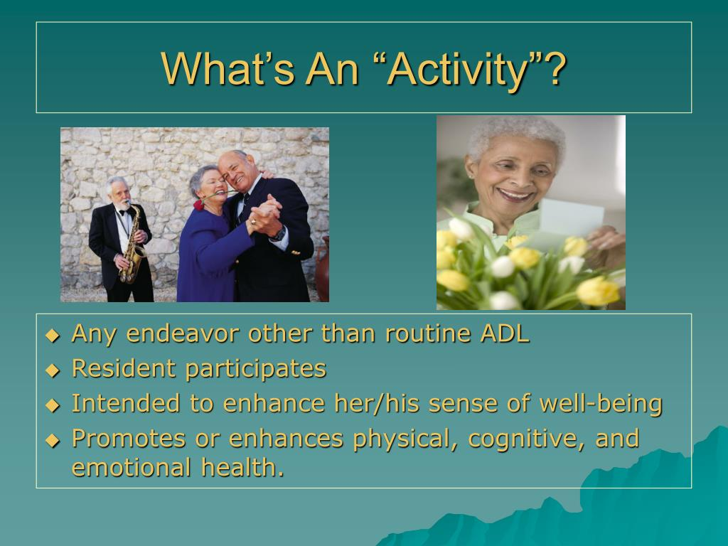 "What's An ""Activity""?"