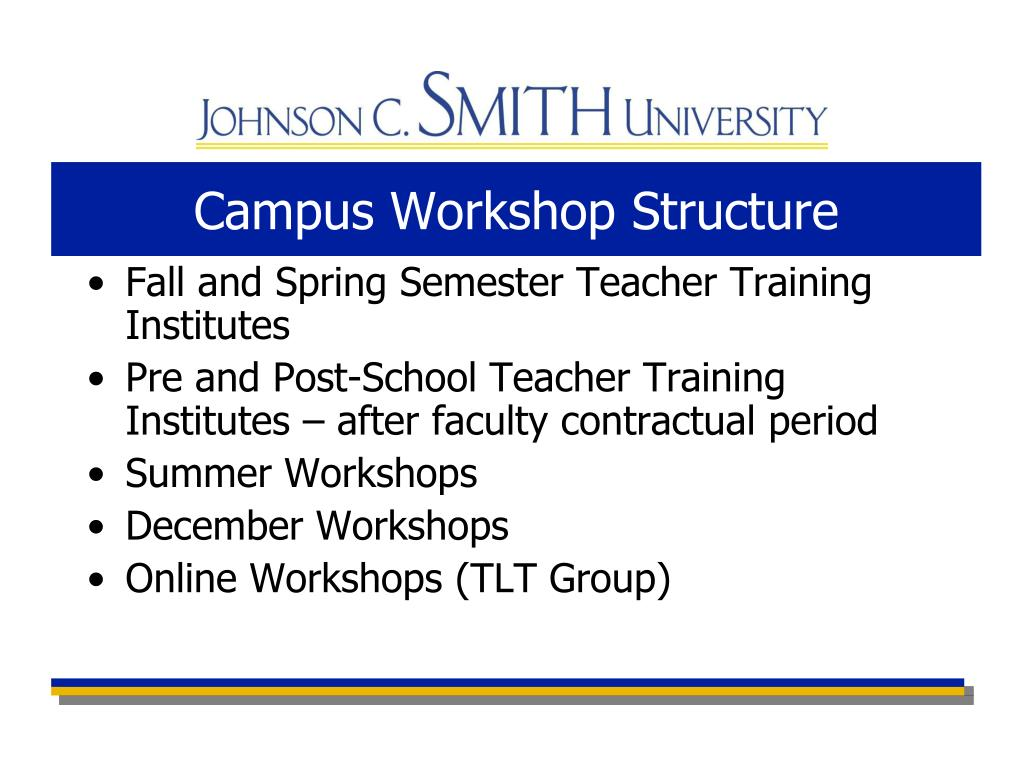 Campus Workshop Structure