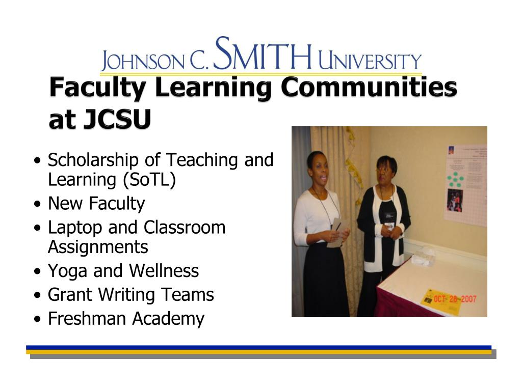 Faculty Learning Communities at JCSU