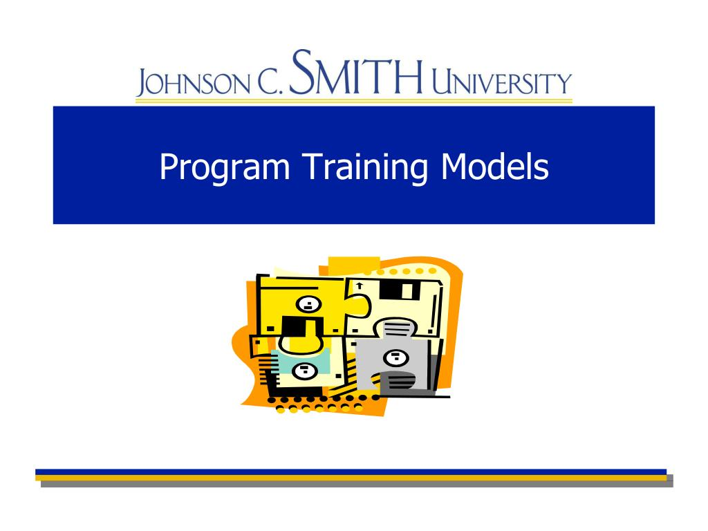 Program Training Models