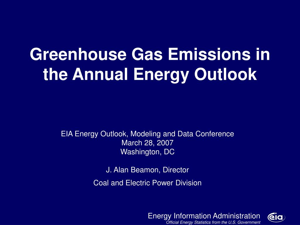 Greenhouse Gas Emissions in the Annual Energy Outlook