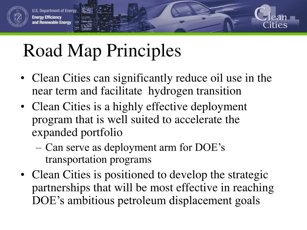 Road Map Principles