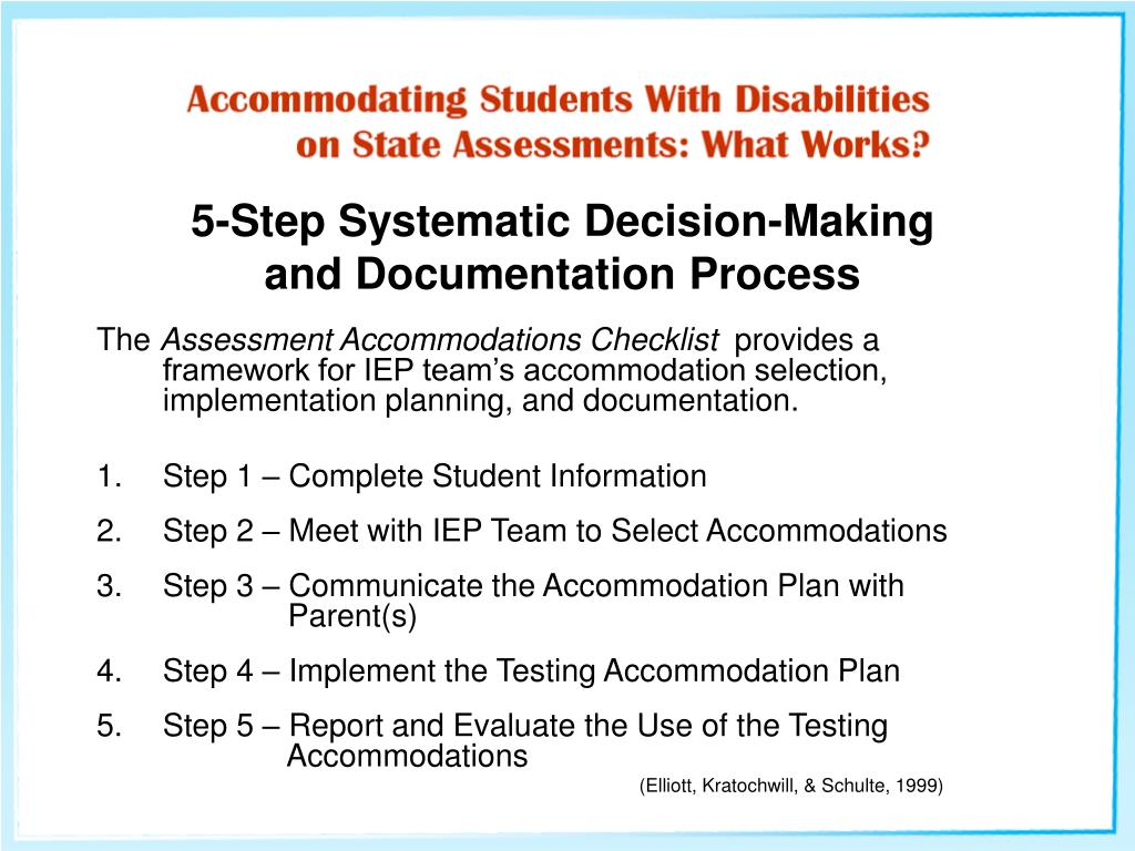 5-Step Systematic Decision-Making