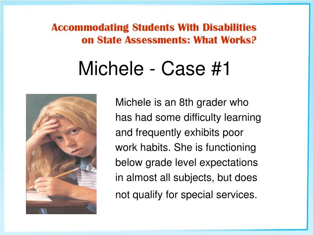 Michele - Case #1