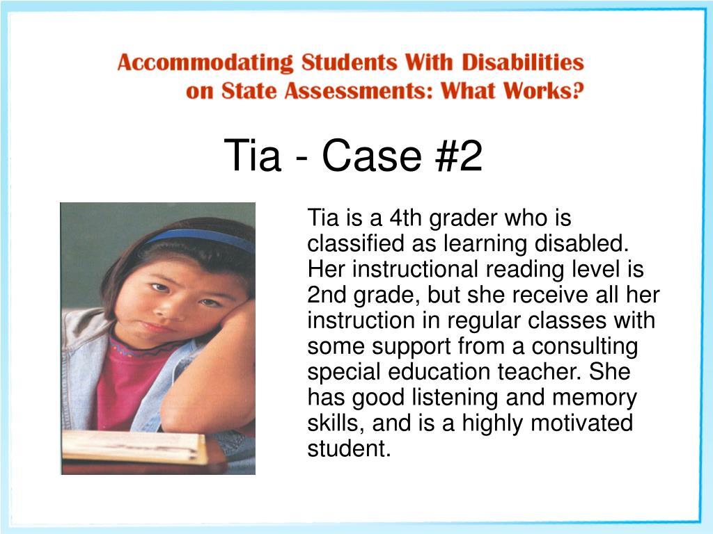 Tia - Case #2
