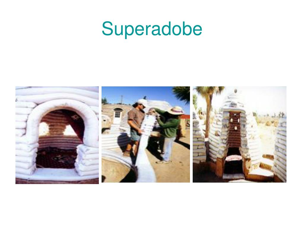 Superadobe