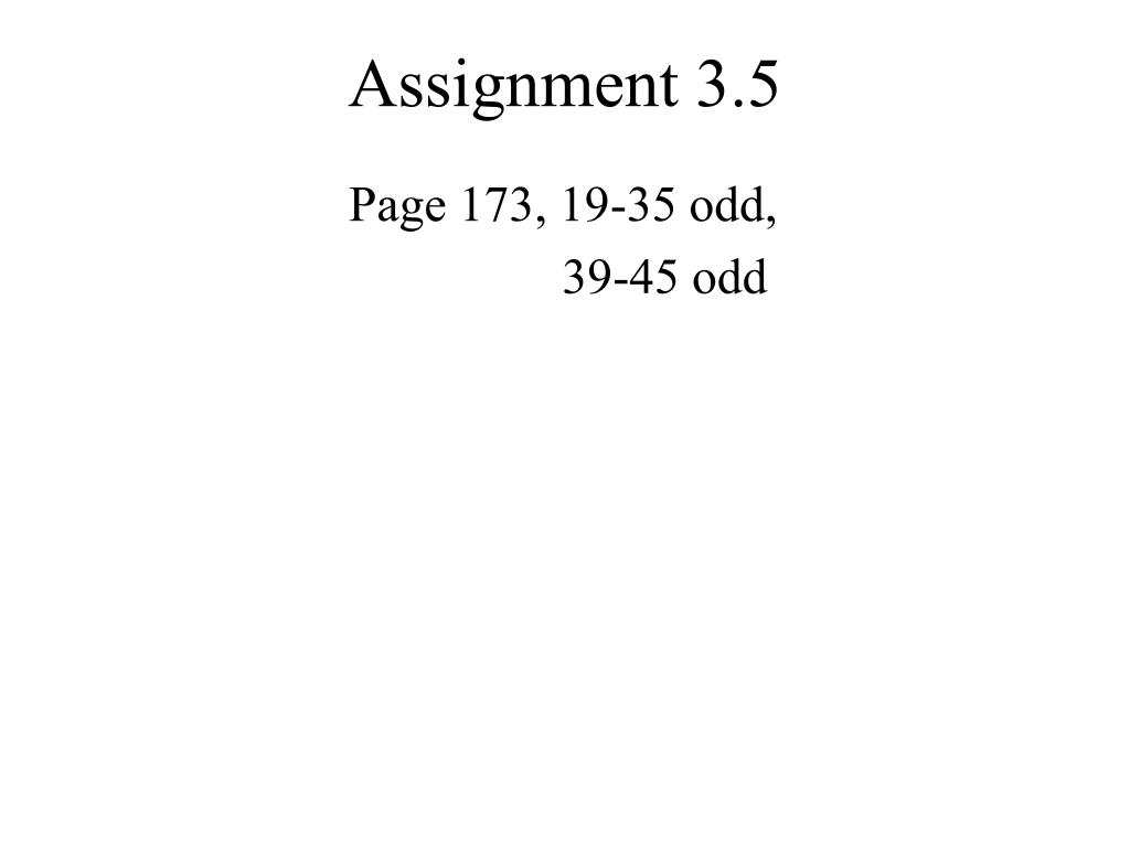 Page 173, 19-35 odd,